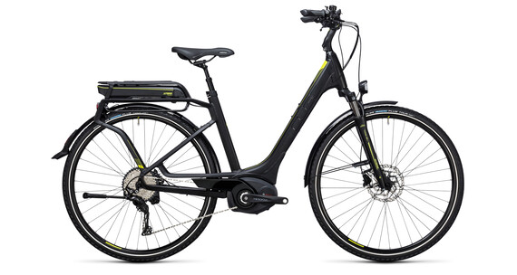 Cube Touring Hybrid EXC 400 Easy Entry black'n'lime